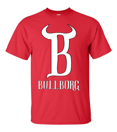 BullBorg Red T-Shirt from the Adventures of HyperKid at Amazon.com